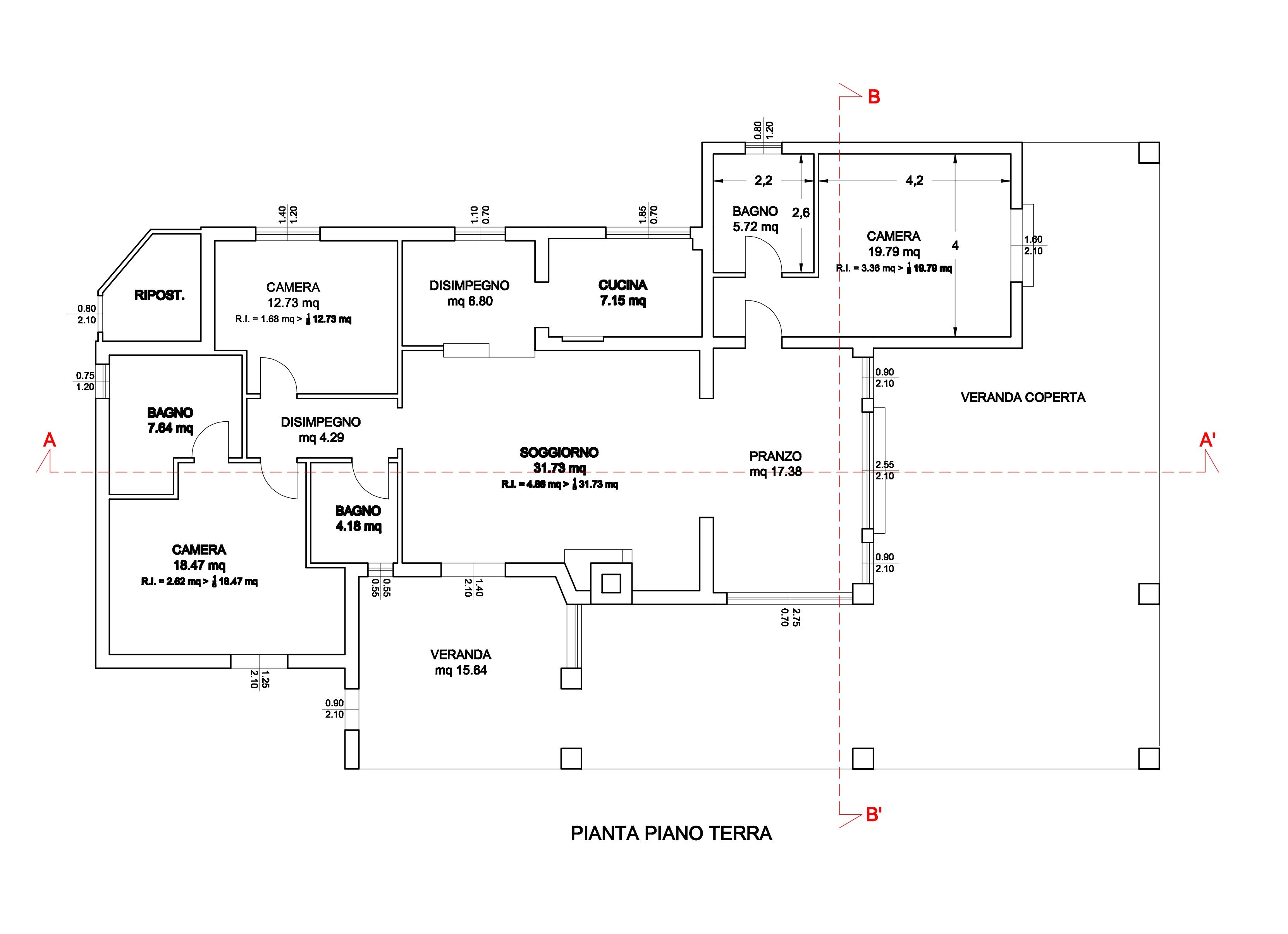 Ampliamento casa con veranda elegant ampliamento casa for Planimetrie delle case con struttura in metallo